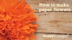how to make a mexican paper flower for day of the dead youtube how to make a mexican paper flower for day of the dead