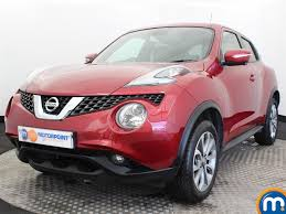 nissan juke 2017 red used nissan juke tekna red cars for sale motors co uk