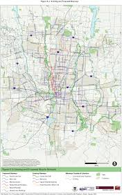 Map Of Franklin County Ohio by Bicentennial Bikeways Master Plan Details Xing Columbus