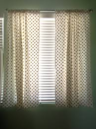 Gold And White Curtains White With Gold Dots Curtains Panels Michael Miller Glitz