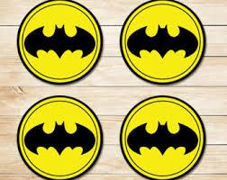 batman party supplies batman party favor etsy
