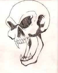 awesome skull drawings awesome design skull with