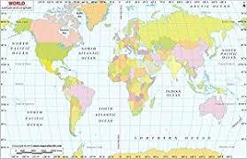 latitude map amazon com world map with latitude and longitude laminated 36