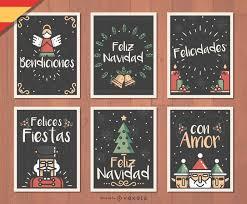 feliz navidad christmas card feliz navidad christmas card vector