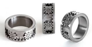 gear wedding ring the gear ring by kinekt design
