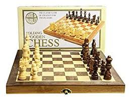 Chess Set Amazon House Of Marbles Standard Wooden Fold Up Chess Set Amazon Co Uk