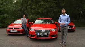 volkswagen audi group 2013 audi a3 vs mercedes a class vs vw golf group test what car