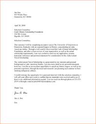 emejing scholarship cover letters photos podhelp info podhelp info