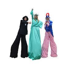 stilt costumes halloween uncle sam stilt walker kids fairyland