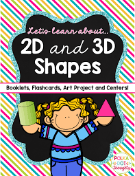learn 2d and 3d shapes polka dot thoughts