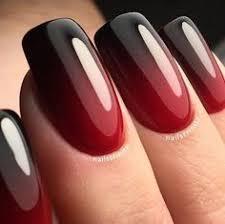 nail art for short nails red black beauty pinterest short