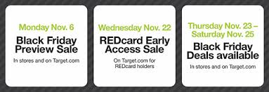 target reveals black friday discounts