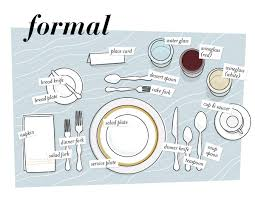 how to set a formal table set your table for spring