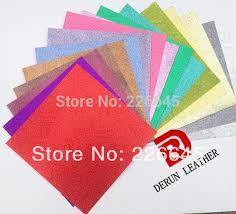 2017 5 sheets glitter card stock gold glitter card stock