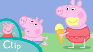 peppa pig episodes ice cream clip cartoons children