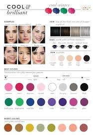 best hair color for deep winters best worst colors for winter seasonal color analysis personal