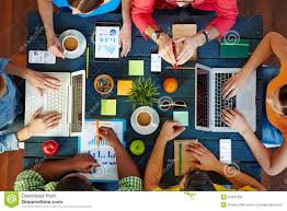 well organized discussion stock photo image 54937436
