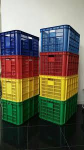 Jual Keranjang Container Plastik Bekas jual keranjang krat container industri plastik panen ikan roti buah