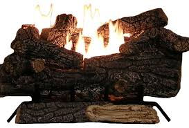 Vent Free Propane Fireplaces by Amazon Com Sure Heat Riverside Oak Vent Free Dual Burner Log Set