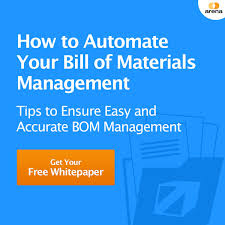 manufacturing bill of materials mbom arena solutions