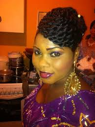 coiffure mariage africaine coiffure mariage idées coiffure afro tresses vanille