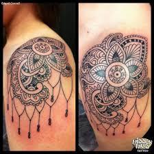 44 amazing henna shoulder tattoos
