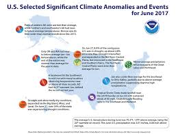 Alaska Temperature Map by Assessing The U S Climate In June 2017 National Centers For
