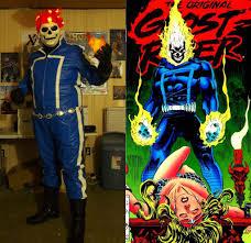 bronze age ghost rider johnny blaze cosplay amino