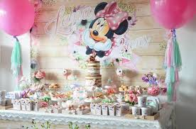 minnie mouse birthday kara s party ideas boho chic minnie mouse birthday party kara s