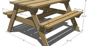 Free Plans Round Wood Picnic Table by Ana White Build A Preschool Picnic Table Free And Easy Diy