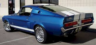 1967 blue mustang acapulco blue 1967 ford mustang shelby gt 500 fastback