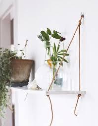 diy simple wall garden shelves