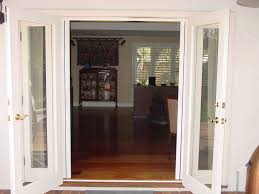 double opening french doors home interior design