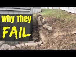 how to build a retaining wall stronger retaining walls how to