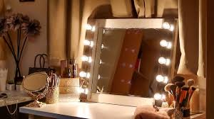 Table Vanity Mirror With Lights Diy Series How To Make A Vanity Mirror With Lights Youtube