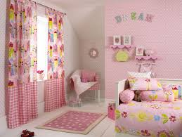 wall decorations for girls bedrooms with nice pink and white round