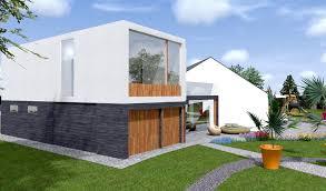 extension maison contemporaine bardage maison moderne perfect ordinaire revetement exterieur