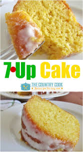 7up cake recipe from the country cook is a soft spongy cake that