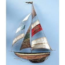 marvellous sailboat wall decor sailboat wall sailing ship wall