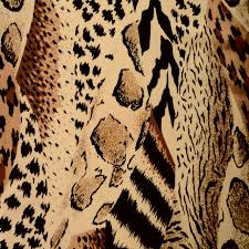 animal print texture in home design