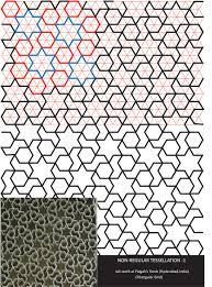 non regular tessellation paigah tomb hyderabad india designs