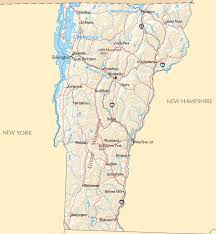 usa map vt vermont map map of vermont