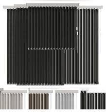 vertical blinds in 4 color 3d model cgtrader