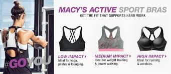 sports bras at macy u0027s womens sports bras macy u0027s