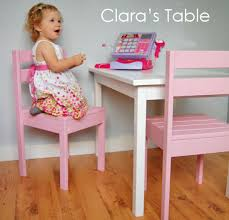 Time Out Chairs For Toddlers Ana White Clara Table Diy Projects