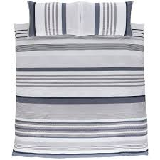 bianca cotton soft seersucker cotton striped quilt cover set bed