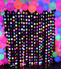 glow in the party decorations pictures neon for kids best resource