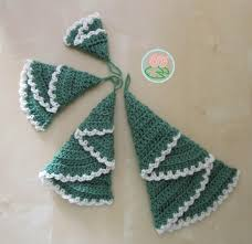 Free Crochet Patterns For Christmas Tree Ornaments Toma Creations