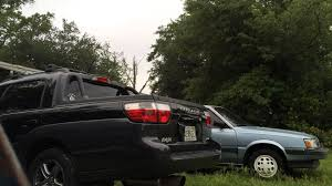 subaru baja off road subaru baja turbo aftermarket muffler youtube