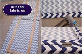 Room Dividers Diy by Diy Room Divider Dressing Screen Chevron Fabric Project
